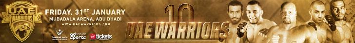 UAE Warriors 728×90