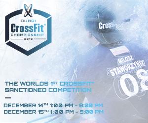 Dubai Crossfit Championship – Dec 15th – 300×250
