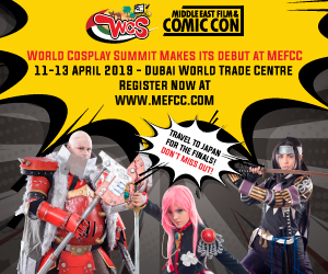 Comic Con – 300×250 – April 13th