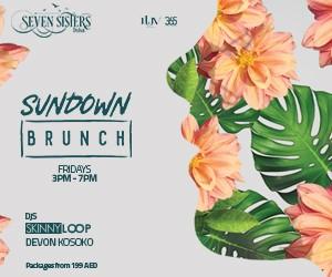 Luv Events  – SEVEN SISTERS – Sundown Brunch – 300×250