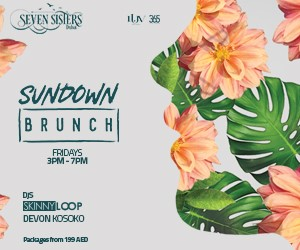 Luv Events  – SEVEN SISTERS – Sundown Brunch – 300×250