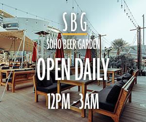 Soho Beer Garden  (25.01 – 23.02) 300×250