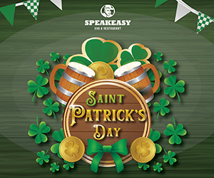 Speakeasy Dubai – St Patricks Day 300×250
