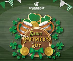 Speakeasy Dubai – St Patricks Day 300×250