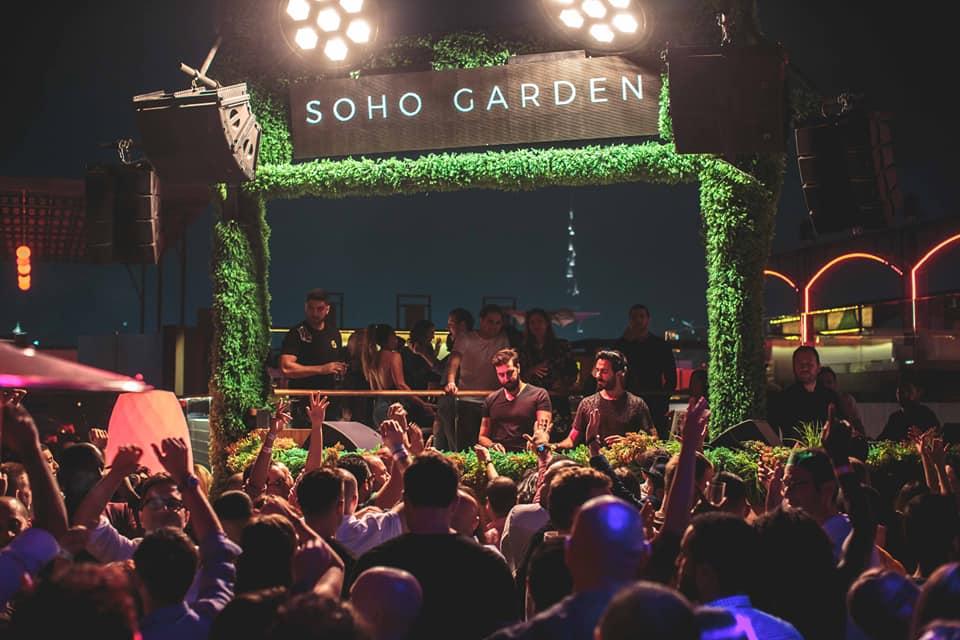 soho garden new year's eve