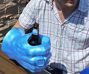 hulk drink holder