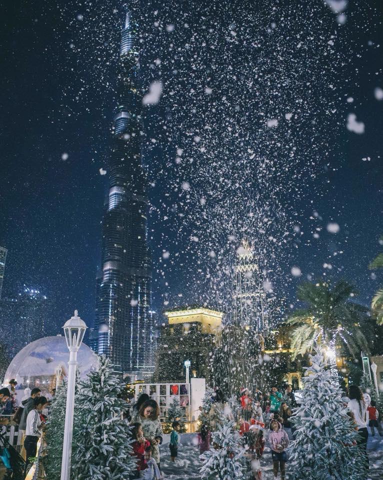 downtown dubai christmas