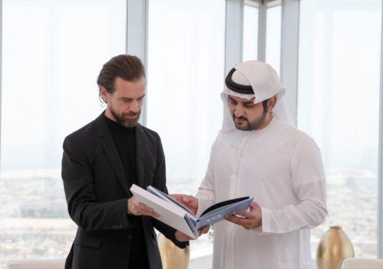 Jack Dorsey Twitter CEO Dubai Sheikh Mohammed