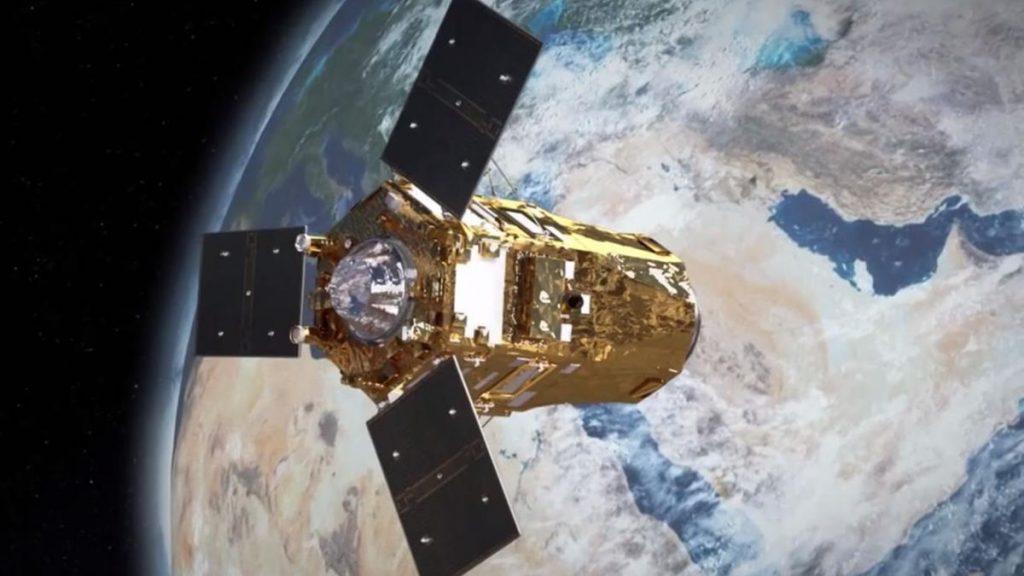 UAE Falcon Eye 1 satellite
