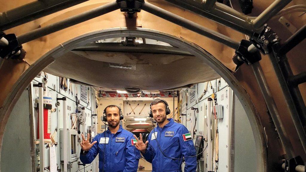 Hazza Al Mansouri halal meals first astronaut