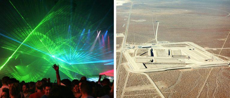 Area 51 EDM festival Facebook event