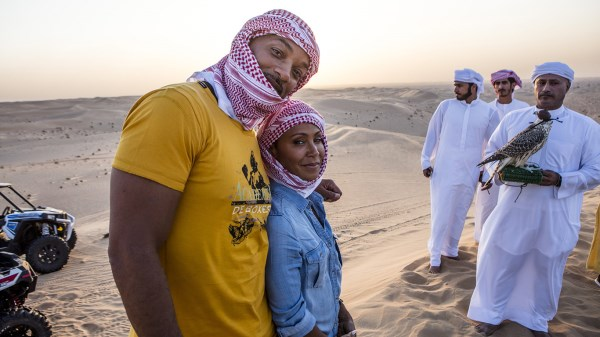 It's no secret that Will Smith is a big fan of Dubai, and he was back in the city with his wife, Jada Pinkett Smith.