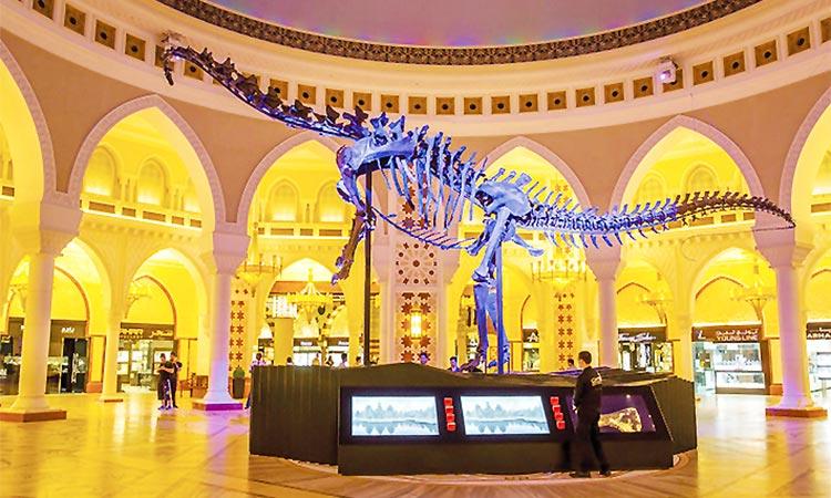 Dubai Mall dinosaur auction