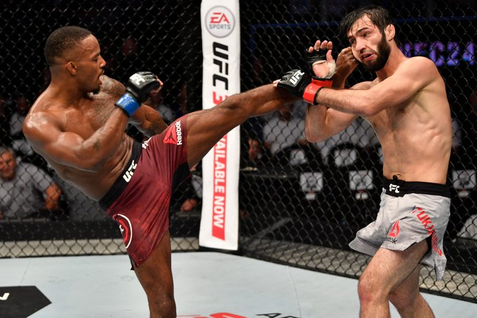 UFC 242 Action and Results