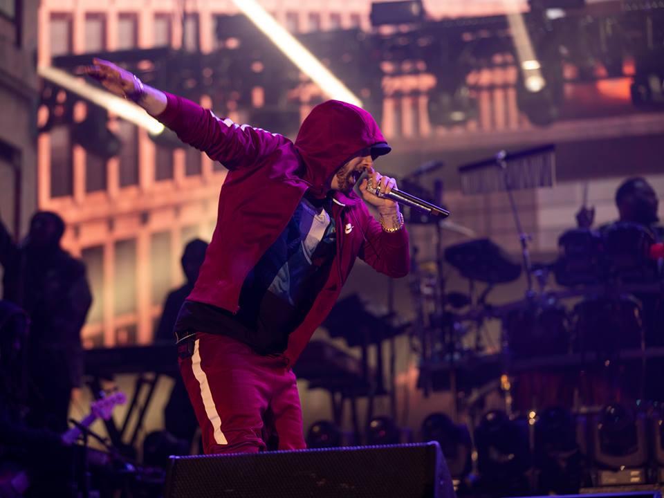 Eminem Abu Dhabi Concert Can't miss du Arena Kamikaze Slim Shady Marshall Mathers