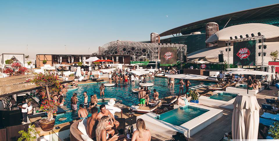 Carl Cox Soho Beach Opening Party Season Dubai