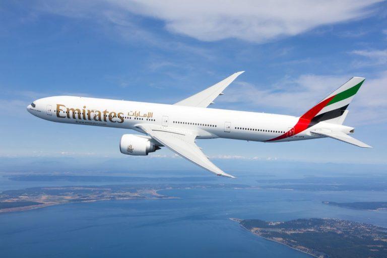 Emirates drone disturbance
