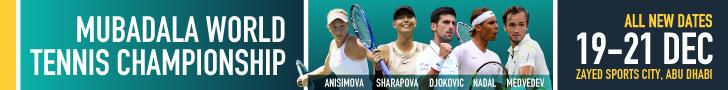Mubadala Tennis – 728×90