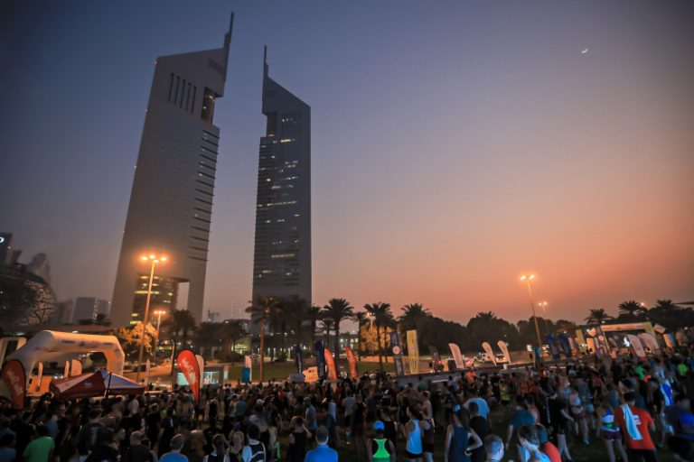 Dubai Fitness Challenge Sheikh Zayed Road Run 5km 10km Marathon