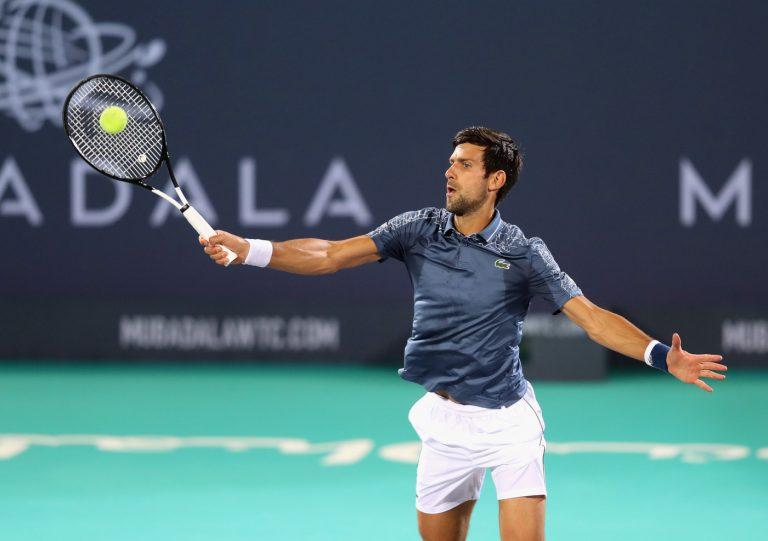 Novak Djokovic Mubadala World Tennis Championship Wimbledon Rafael Nadal Medvedev