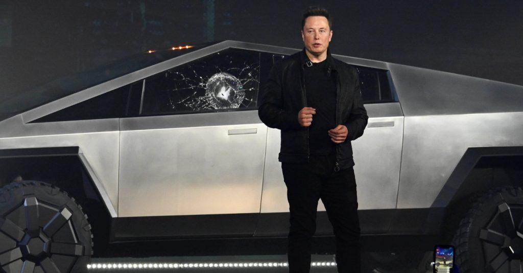Elon Musk Cybertruck