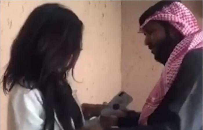 Saudi Arabia Viral Video Arab couple arrested Abaya
