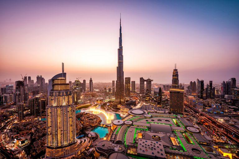 UAE 2010s Highlights Decade Expo 2020 Hazza Al Mansoori Expo 2020 Burj Khalifa Dubai