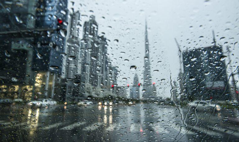 Rain forecast in Dubai this weekend