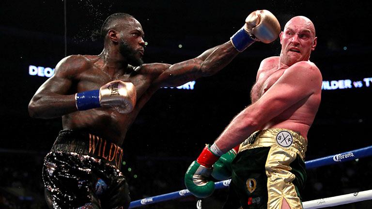 Wilder vs Fury Dubai