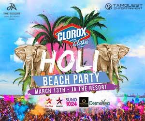 Holi Beach Party – JA – March 14th 2020 [300×250]