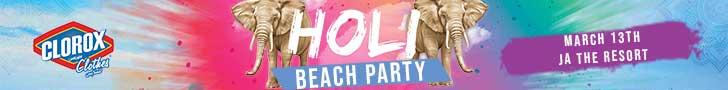 Holi Beach Party – JA – March 14th 2020 [728×90]