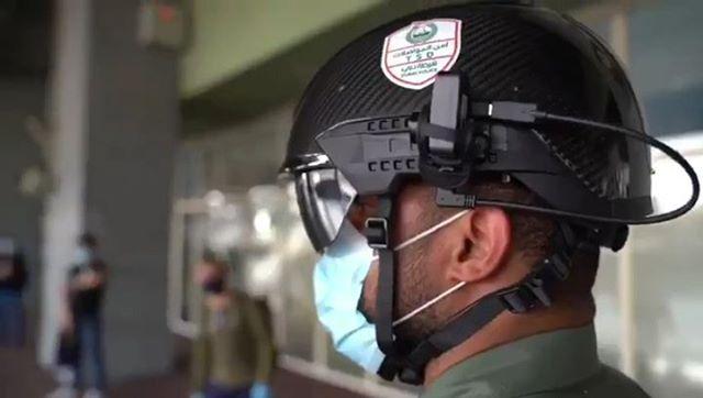 Dubai Police smart helmets