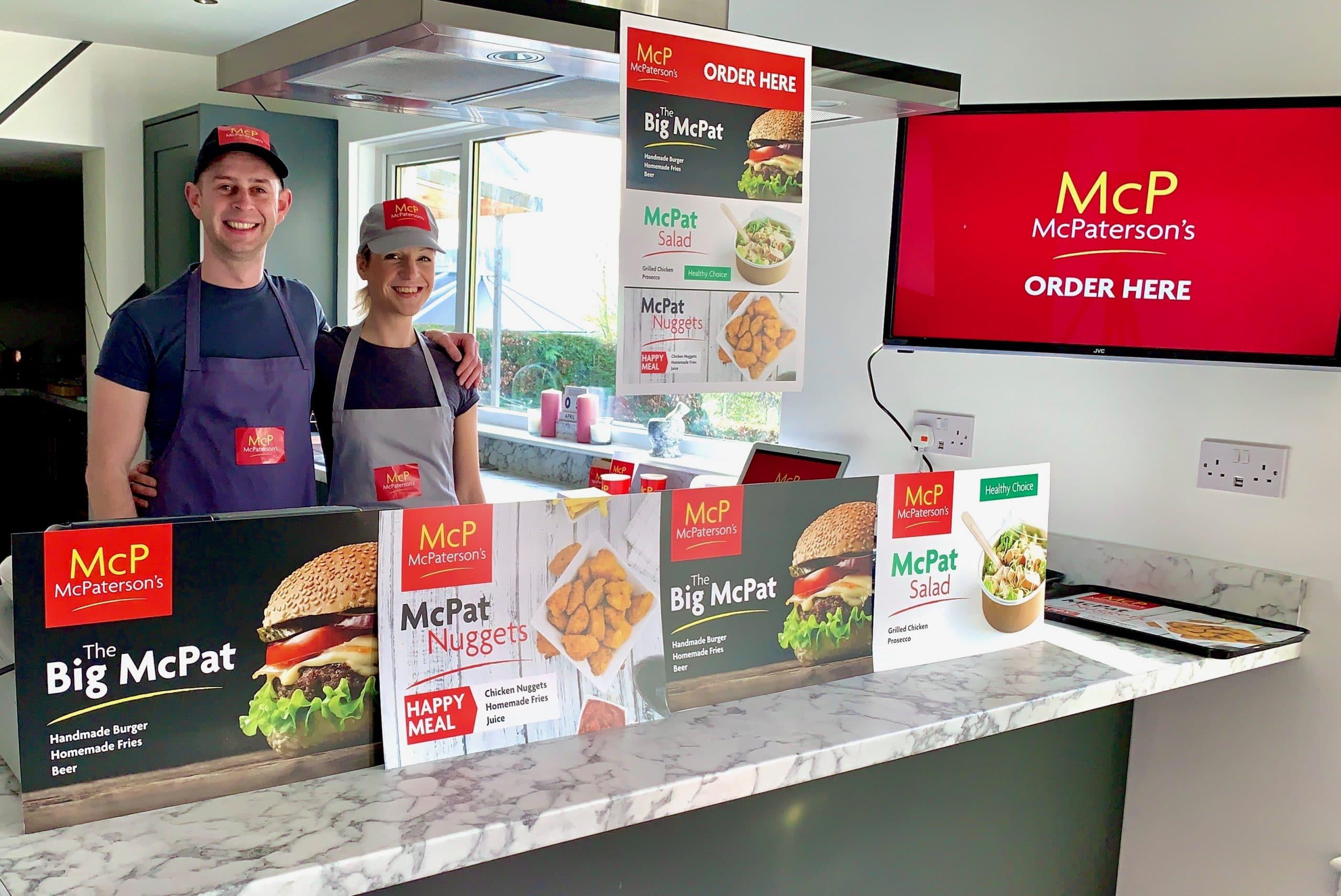 In-house McDonalds restaurant