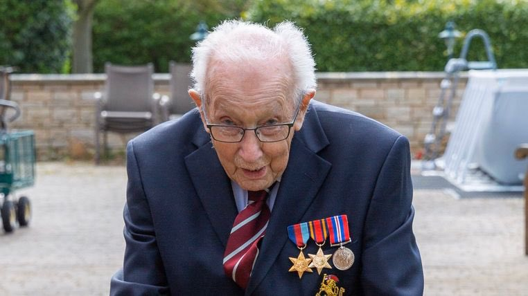 War veteran raises millions for the NHS