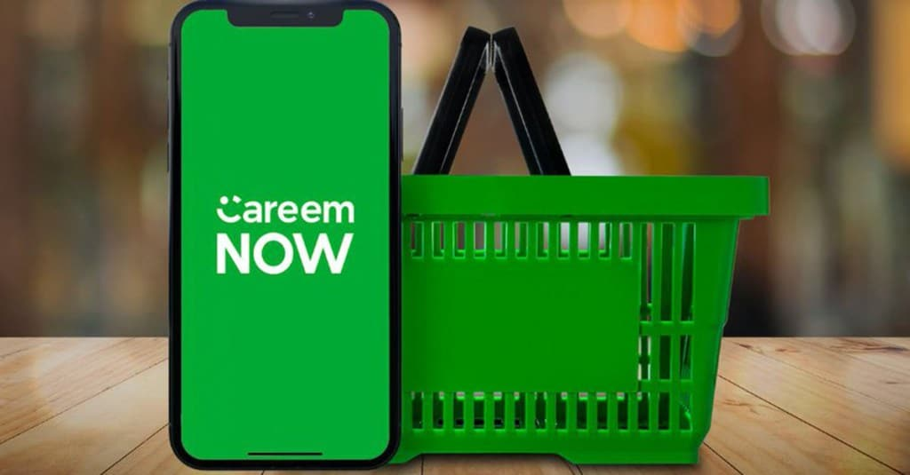 Careem Now shopping delivery
