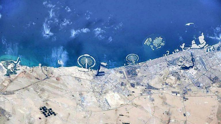 Dubai from space photos