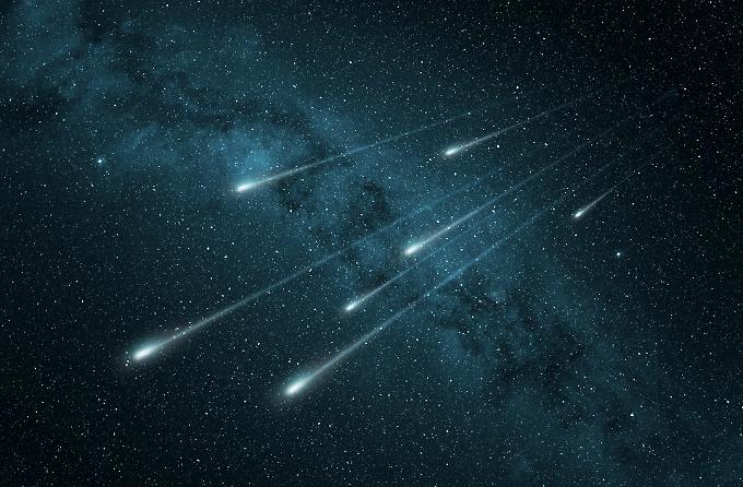 Dubai meteor shower
