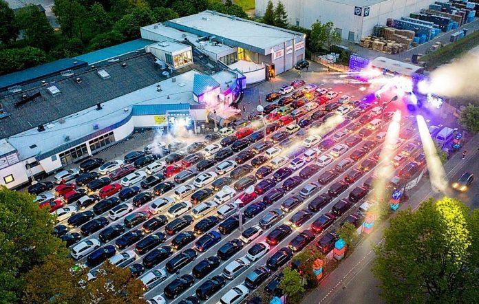 In car raves Germany