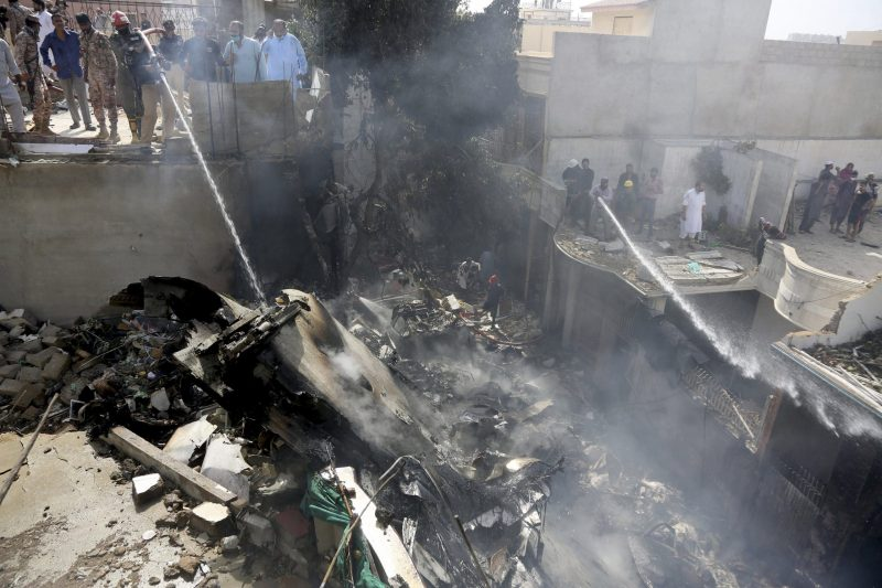 Flight crashes in Pakistan with most feared dead