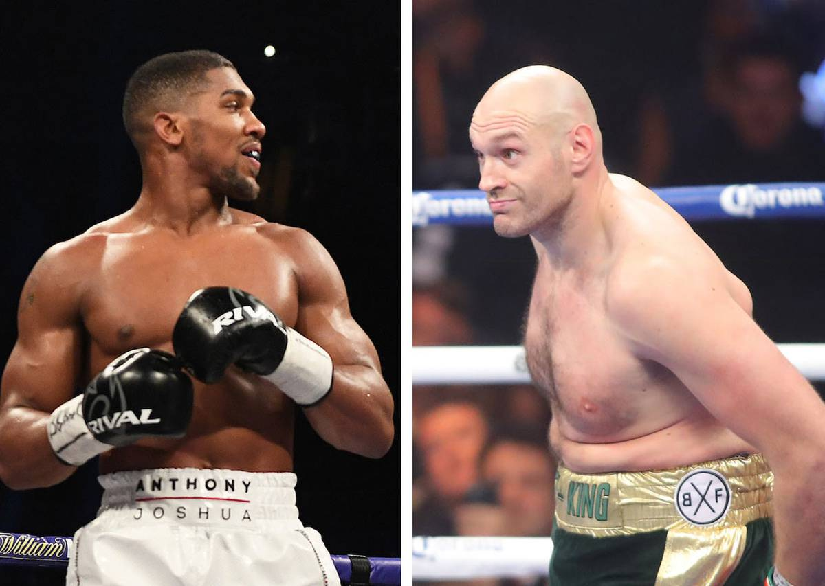 Joshua and Fury agree to two fights in principle