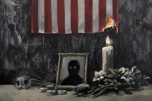 Banksy reveals Black Lives Matter artwork