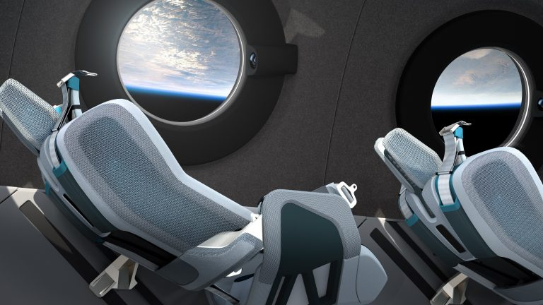 Virgin Galactic reveal what their zero-gravity planes will look like