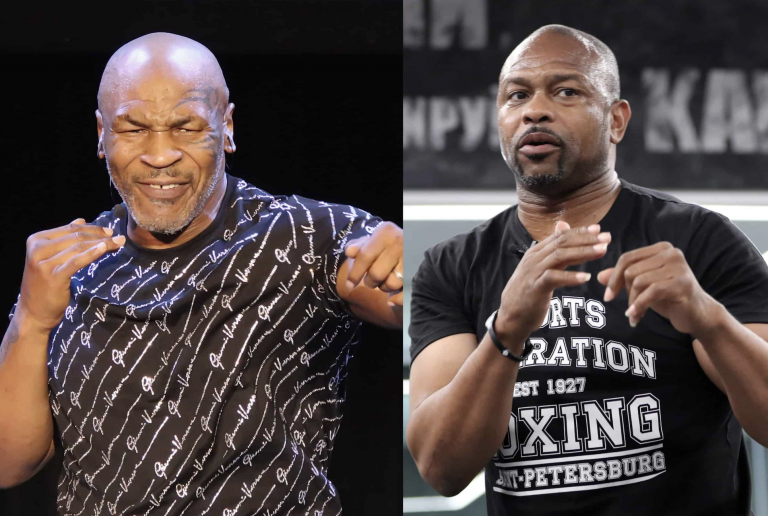 Mike Tyson steps back into the ring with a fight against four-weight champion Roy Jones Jr