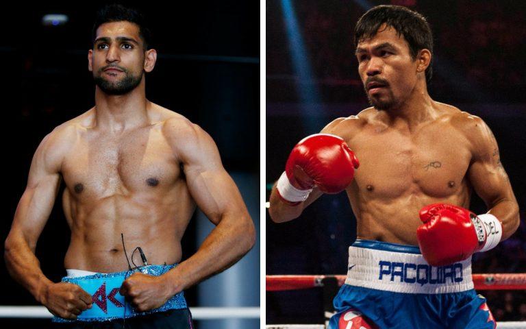 Amir Khan eyes up title fight versus Pacquiao