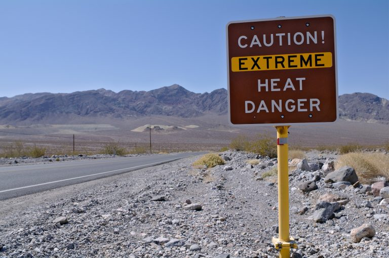 Death Valley hottest place on the earth