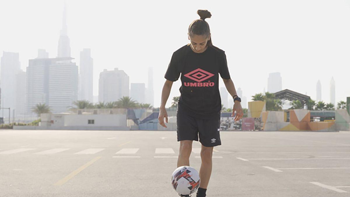 UAE footballer breaks world record for hotstepping