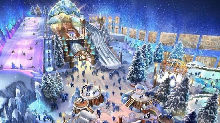 The world's largest snow park is coming to Abu Dhabi this year