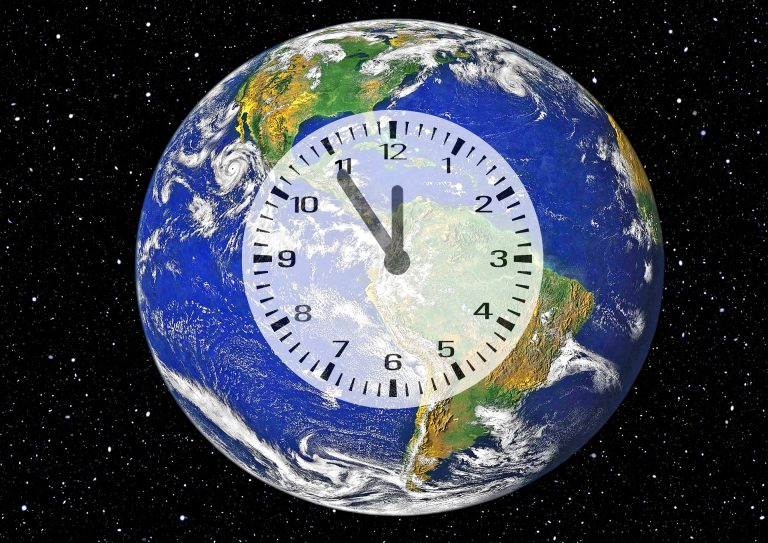 The climate clock in New York is counting down until the end of the world