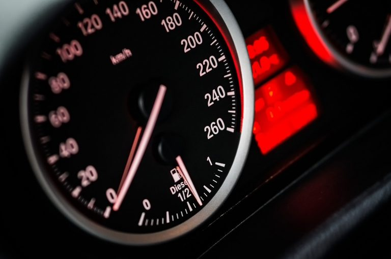 Driver caught speeding in Sharjah at 278km/hour