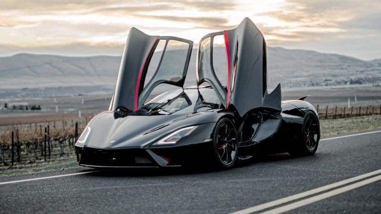 The SSC Tuatara is now the world's fastest car at 331mph